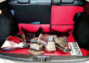 Les « stups » de Thaïlande ont vendu aux enchères un véhicule qui contenait des comprimés de méthamphétamine