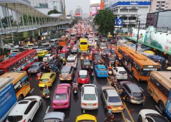 Bangkok, 11e ville la plus affectée par les embouteillages au monde