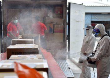 La Thaïlande désinfecte désormais les colis en provenance de l'étranger