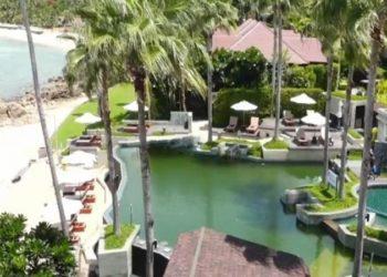 Quelque cent hôtels sont à vendre sur l'île de Koh Samui (Photo : TNA Mcot)