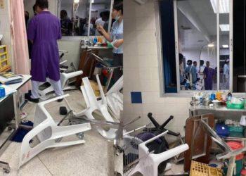 Thaïlande : deux hôpitaux saccagés par une bande de jeunes après une rixe sanglante