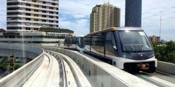 Bangkok : le monorail Gold Line prêt à entrer en service le mois prochain, selon le gouverneur