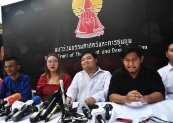 Thaïlande : les manifestants annoncent un nouveau grand rassemblement la semaine prochaine