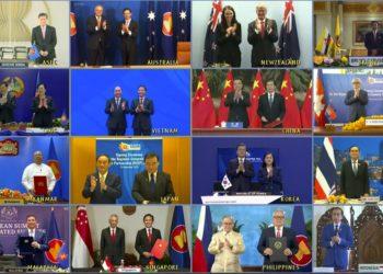 Le plus grand accord de libre-échange du monde signé par quinze pays, dont la Thaïlande