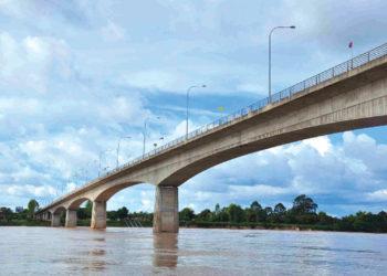 Début de la construction du cinquième pont entre la Thaïlande et le Laos