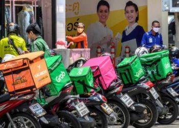 Les livraisons de repas augmentent de 40 % en Thaïlande en raison de la nouvelle vague de coronavirus Covid-19