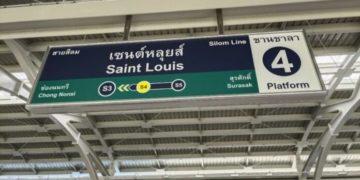 Bangkok : la station de BTS « fantôme » Saint Louis ouvre finalement ses portes après 22 ans d'attente