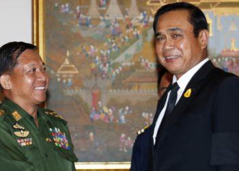 Le chef de la junte militaire birmane sollicite l'aide de son homologue thaïlandais en matière de démocratie