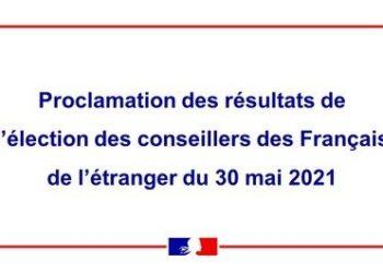 Élection des conseillers des Français de l'étranger en Thaïlande et en Birmanie : proclamation des résultats