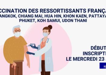 Vaccination contre le Covid-19 des Français de Thaïlande : l'ambassade de France met en place une campagne sans précédent